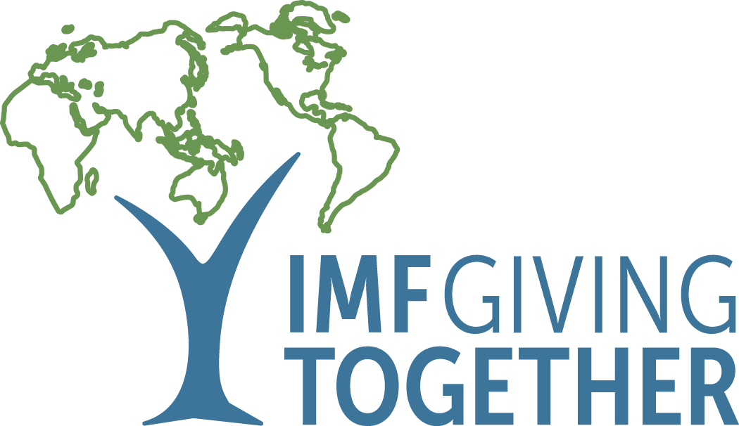 IMF Giving Together logo