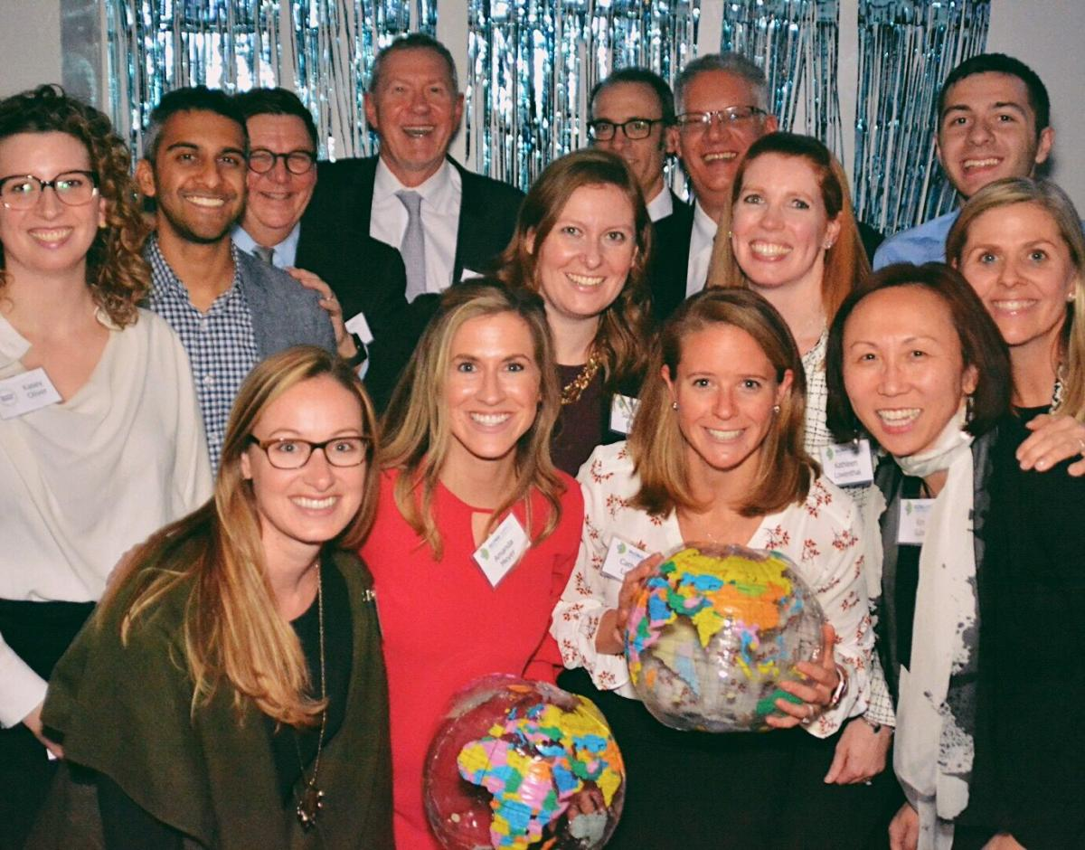The Global Impact and Geneva Global team at the celebration in November.
