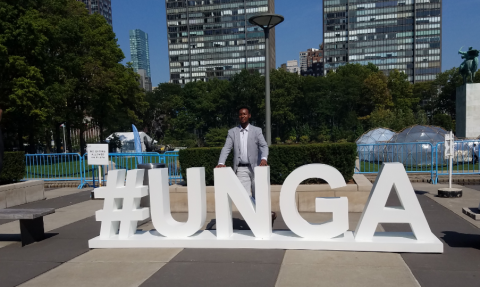 Abdi Hussein Attends the United Nations General Assembly