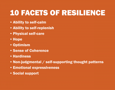 10 facets of resilience