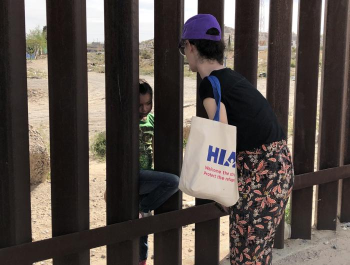 Jewish Clergy at U.S.-Mexico Border
