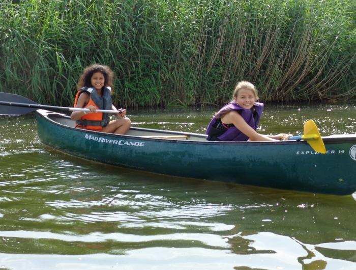Canoeing at Camp Lachenwald
