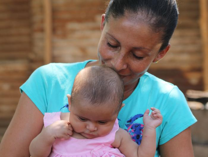 Nicaraguan Mother with baby