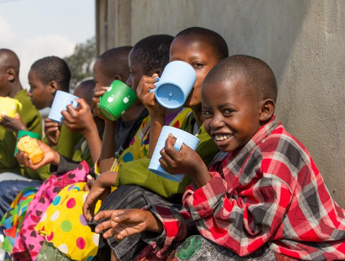 Clean Water Brings Smiles