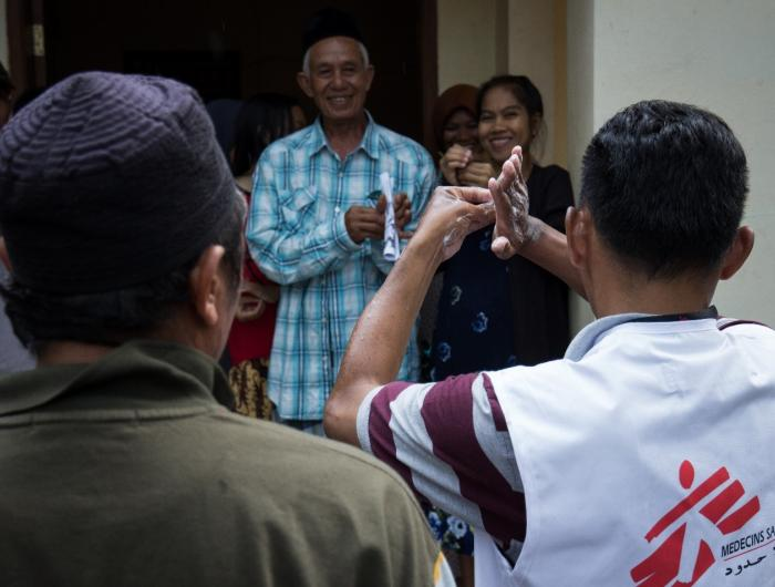 MSF Responds to Tsunami in Indonesia