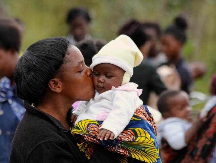Mother and Child in Zambia