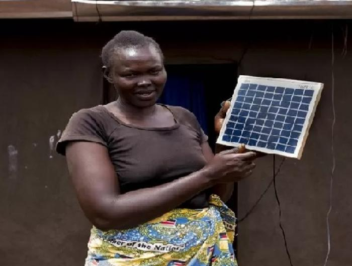 Refuge and Solar Power  in Uganda