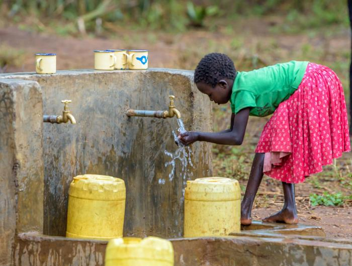 World Vision pipeline brings clean water to Kesot community